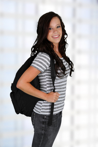 Girl with Backpack John A Gerling DDS in McAllen TX